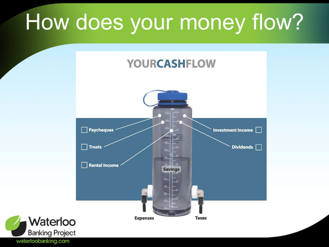 How does your money flow