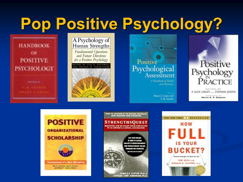 Pop Positive Psychology