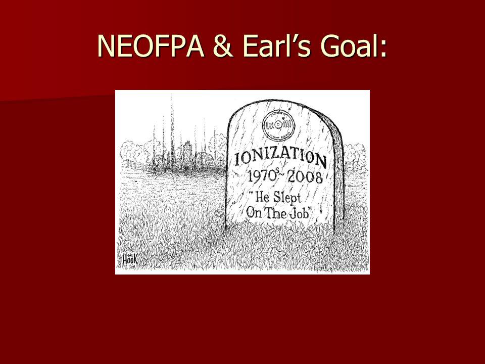 NEOFPA & Earls Goal:
