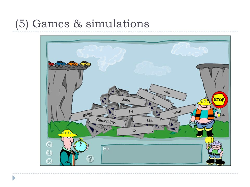 (5) Games & simulations