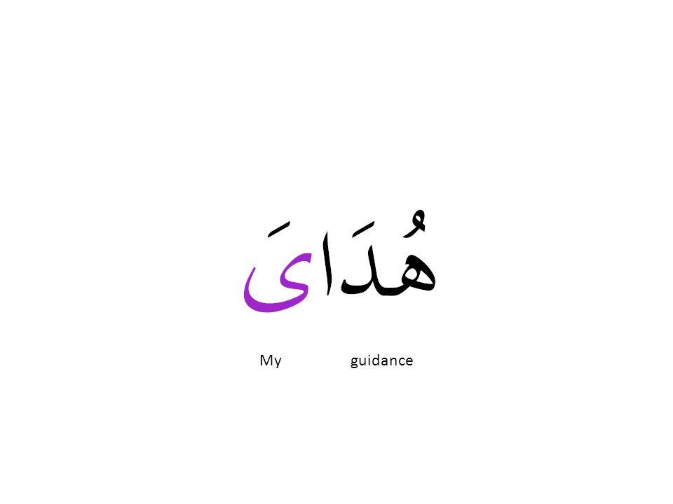 My guidance