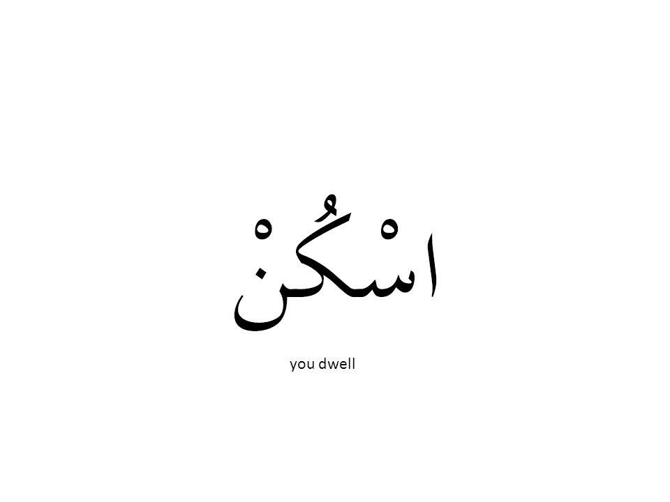 you dwell