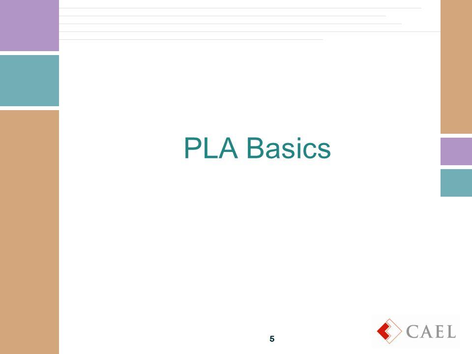 PLA Basics 5
