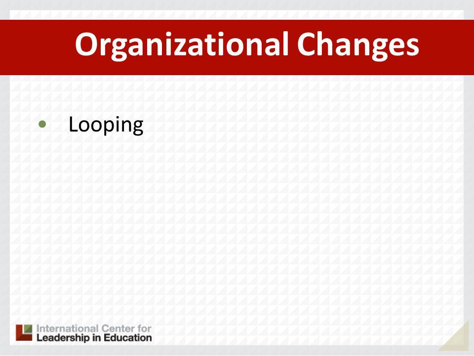 Organizational Changes Looping