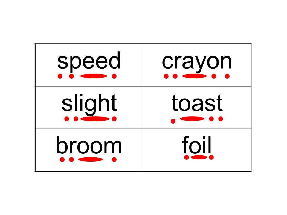 crayon slighttoast broomfoil