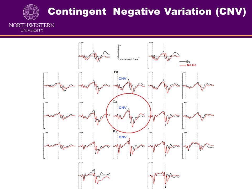 VCPT Task (from Psytask) Contingent Negative Variation (CNV)