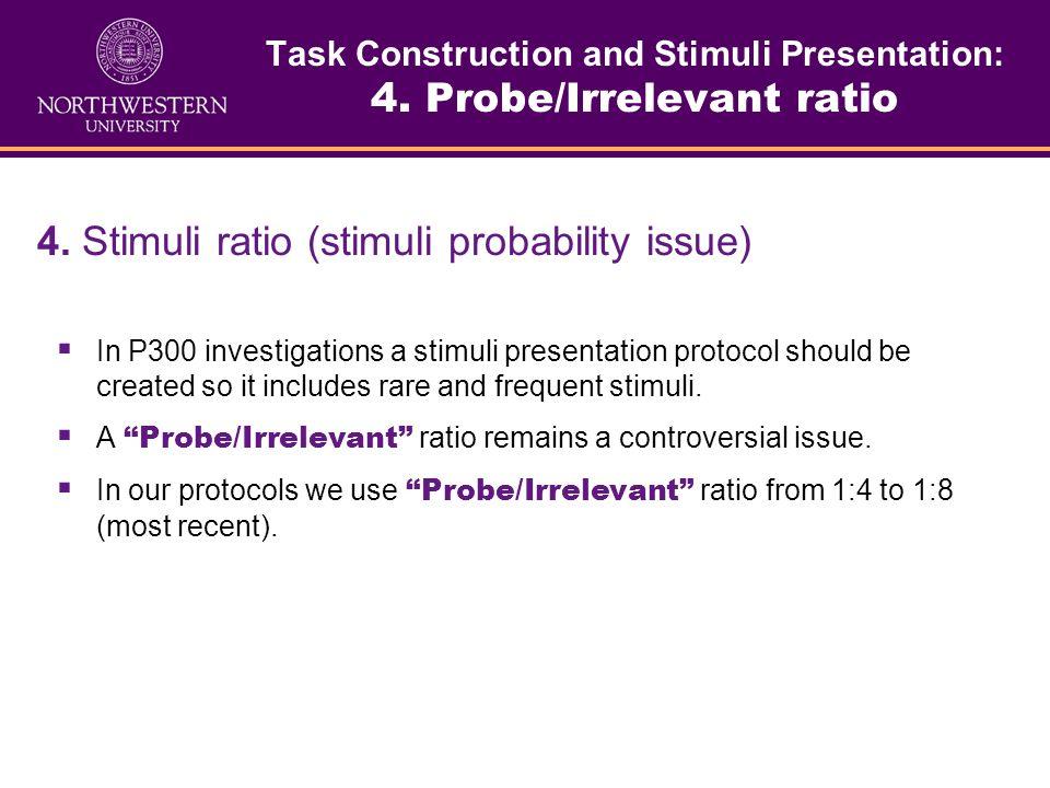 Task Construction and Stimuli Presentation: 3. Preparation of the stimuli 3. Preparation of the stimuli (image/acoustic files). Visual stimuli (Images