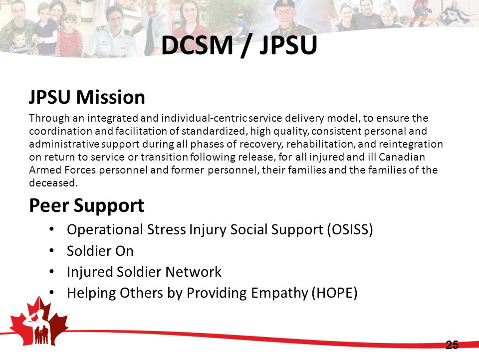 JPSU Mission Through an integrated and individual-centric service delivery model, to ensure the coordination and facilitation of standardized, high qu