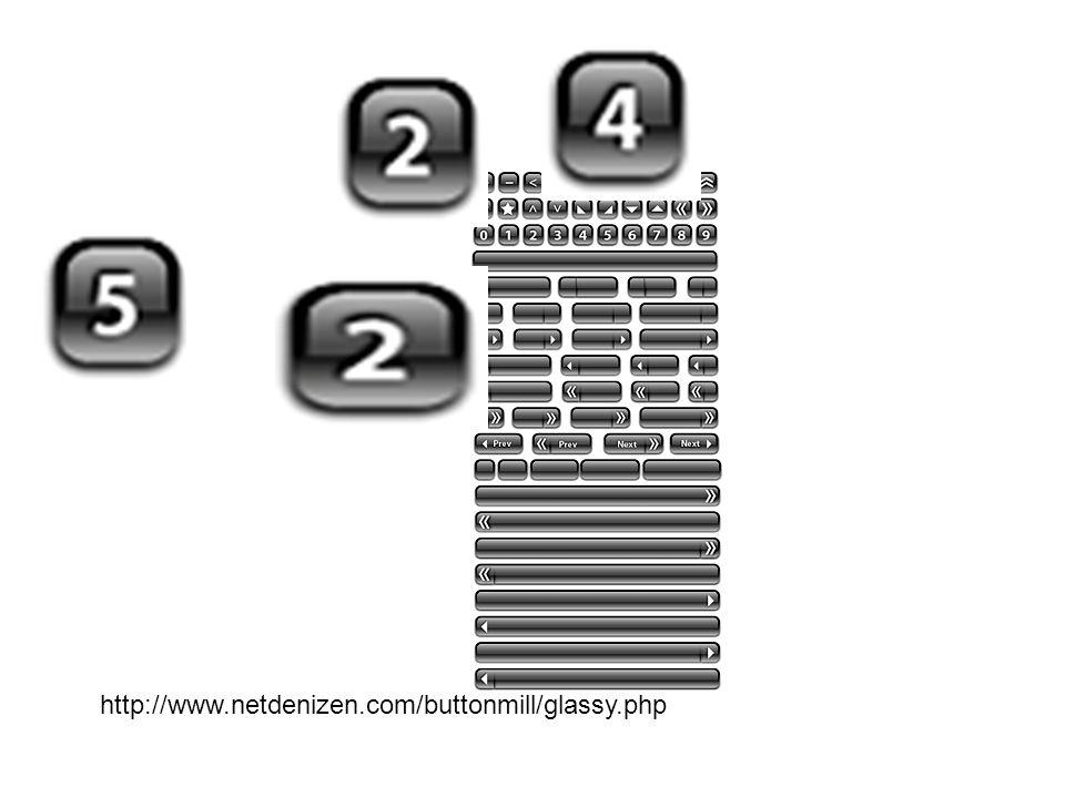http://www.netdenizen.com/buttonmill/glassy.php