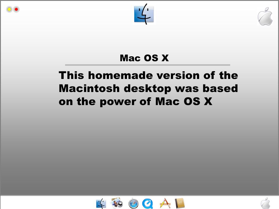 Mac HD Apple system update Media Player Microsoft Word Microsoft PowerPoint Itunes Shutdown