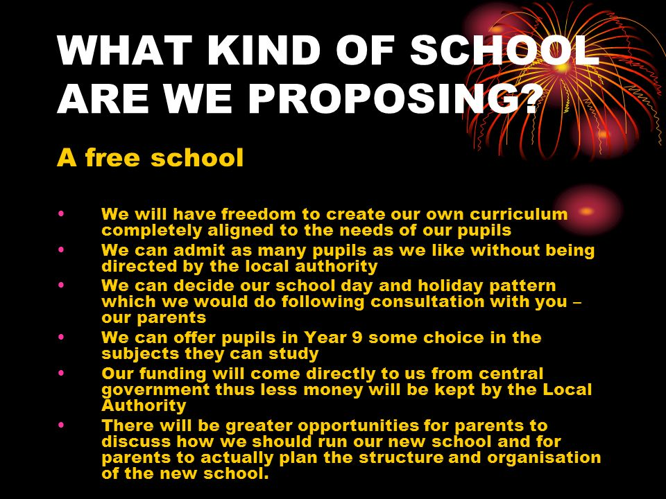 The relationship between the proposed Free School, Knights Templar and the current federation Set up a trust Pupils welcome to join at any time and from any area