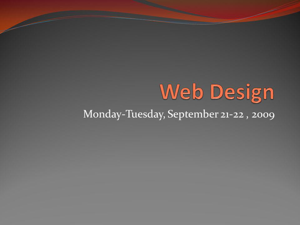 Your next web page We will be using one final tool before moving on to Dreamweaver.