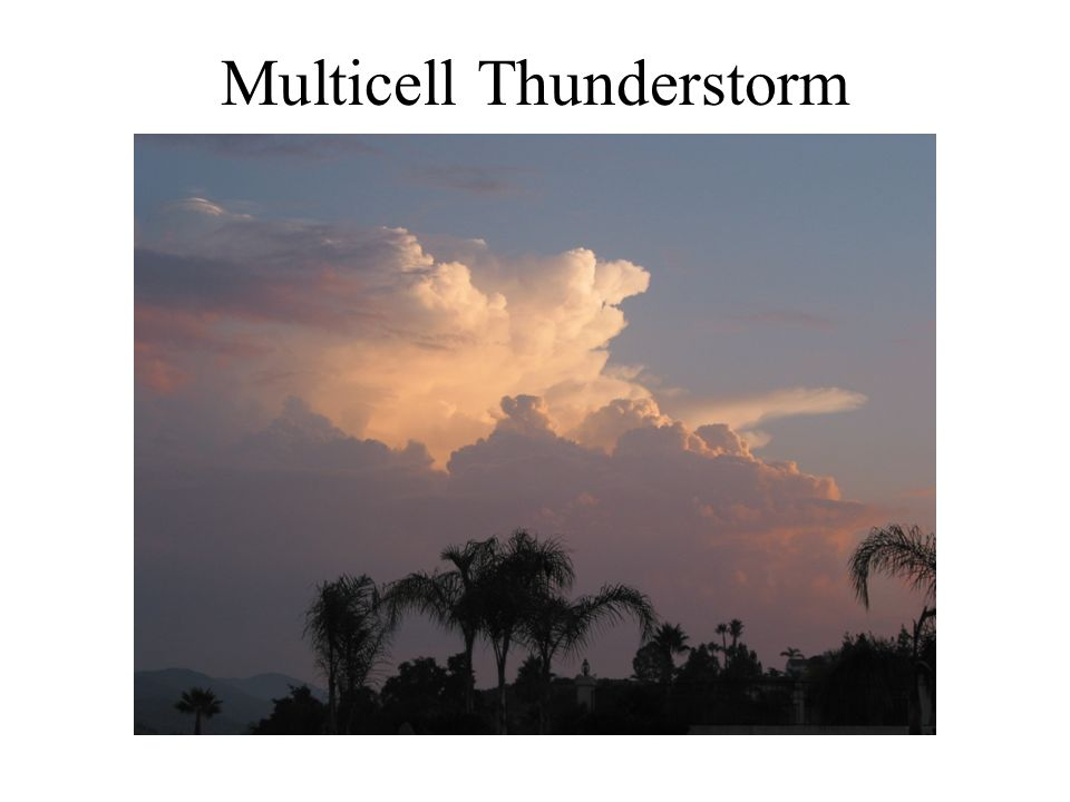Multicell Thunderstorm
