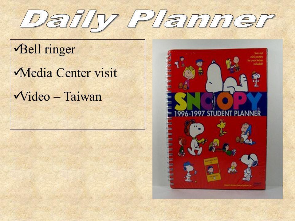 Bell ringer Media Center visit Video – Taiwan