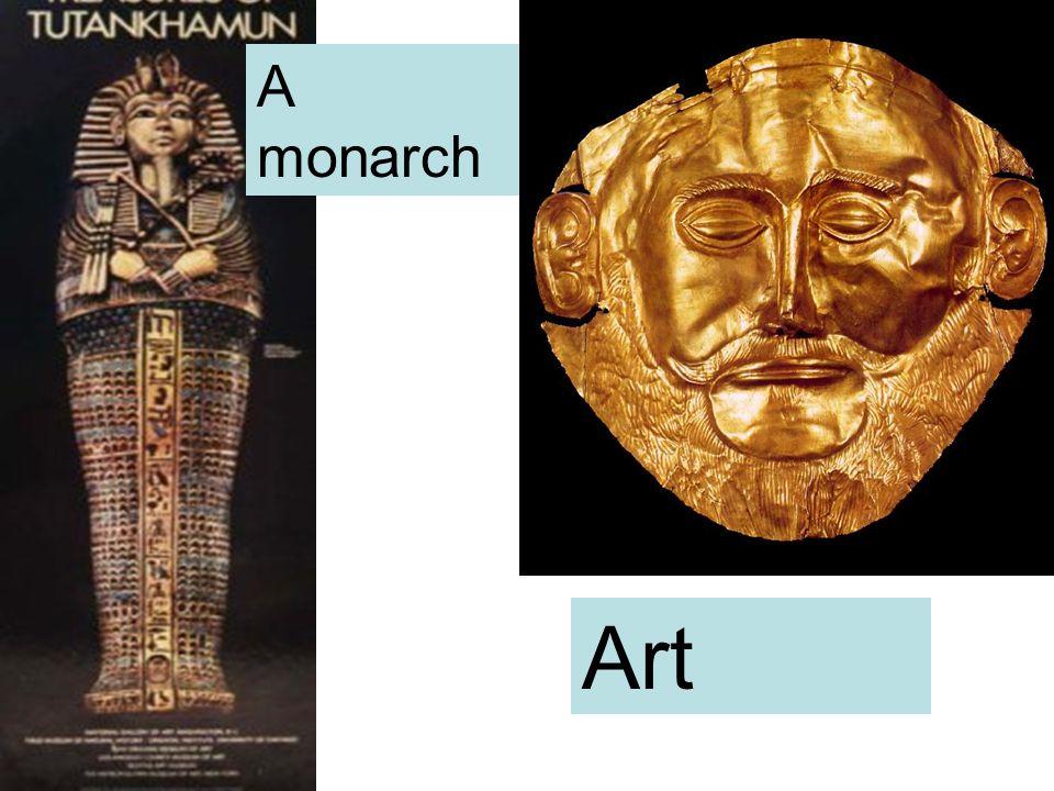A monarch Art