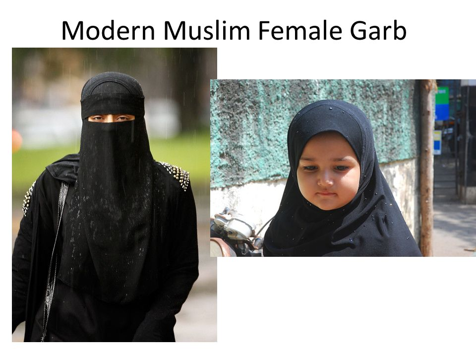 Modern Muslim Female Garb