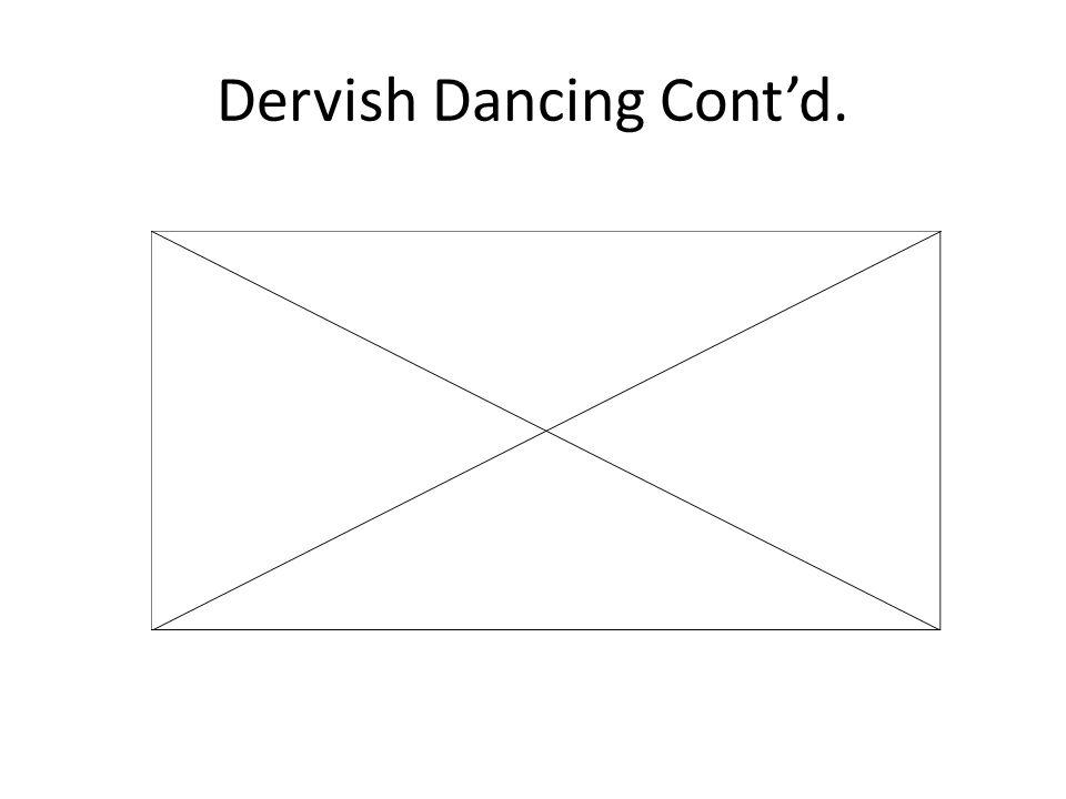 Dervish Dancing Contd.