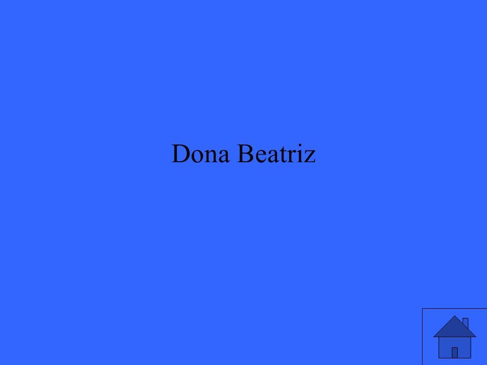 Dona Beatriz