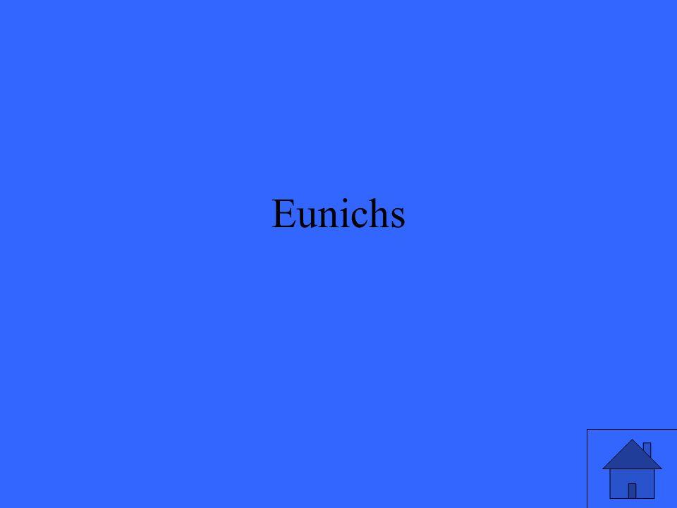 Eunichs