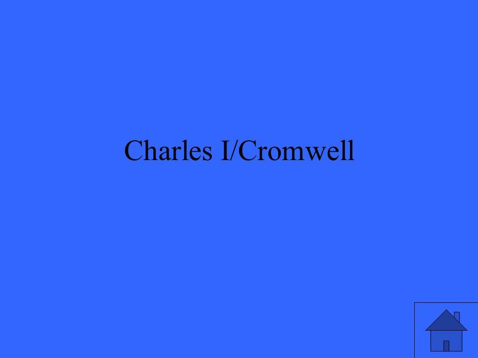 Charles I/Cromwell