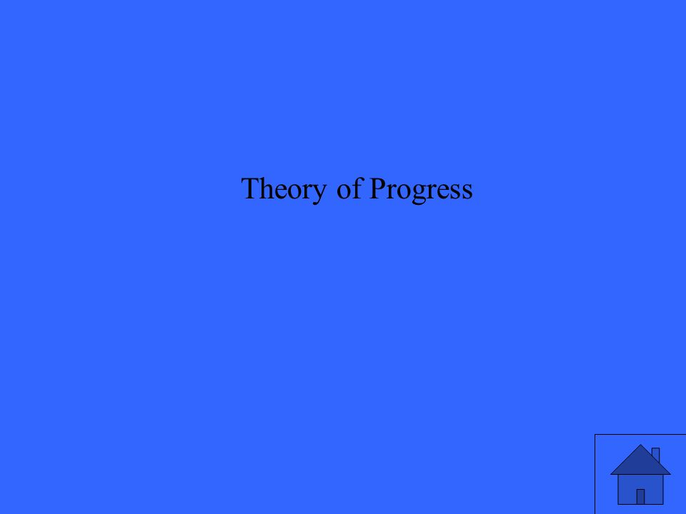 Theory of Progress