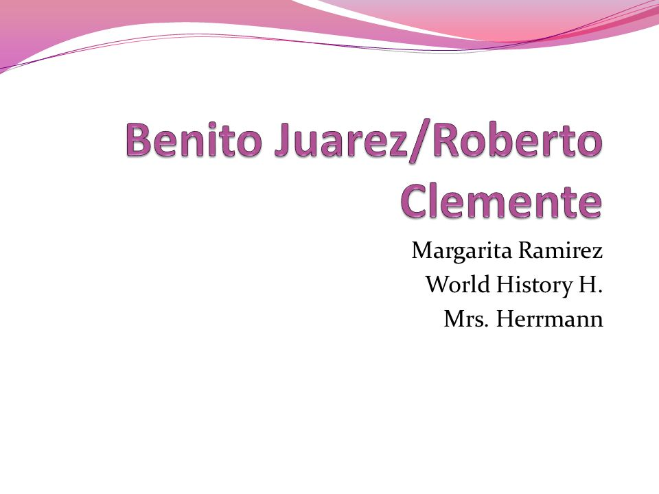 Margarita Ramirez World History H. Mrs. Herrmann
