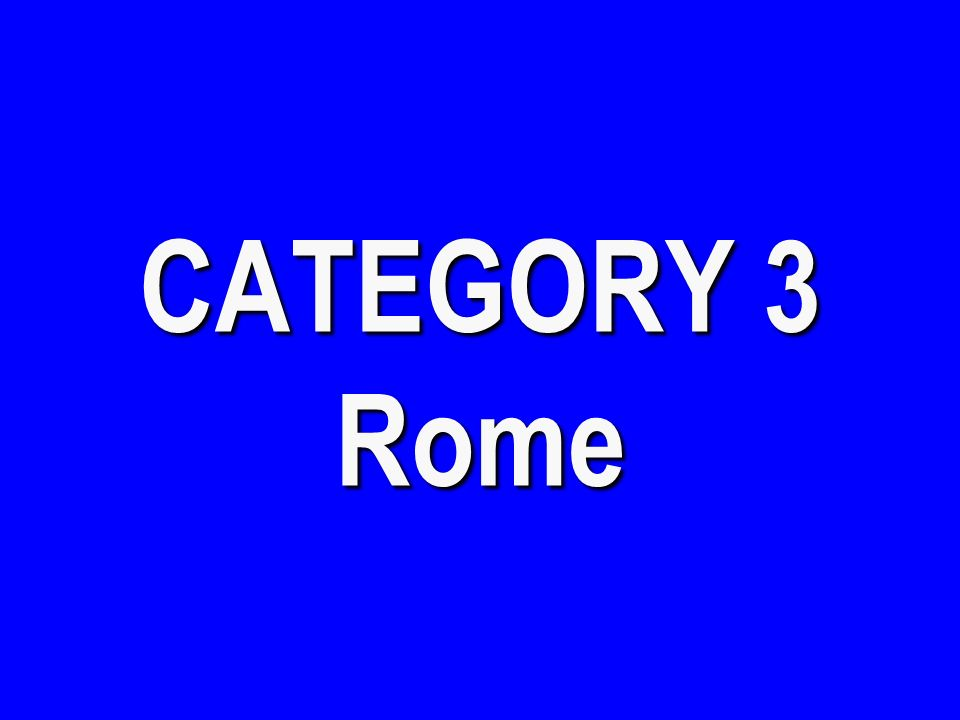 CATEGORY 2 All Things Greek