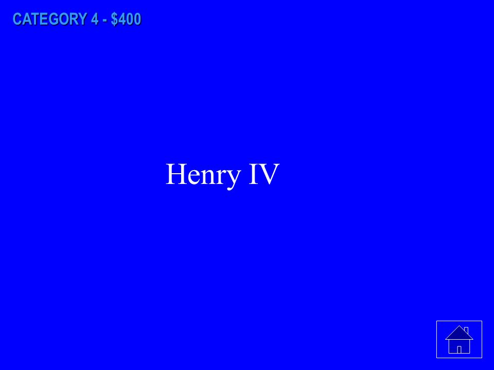 CATEGORY 4 - $300 It was divided between his son, Phillip II, and his brother, Ferdinand.