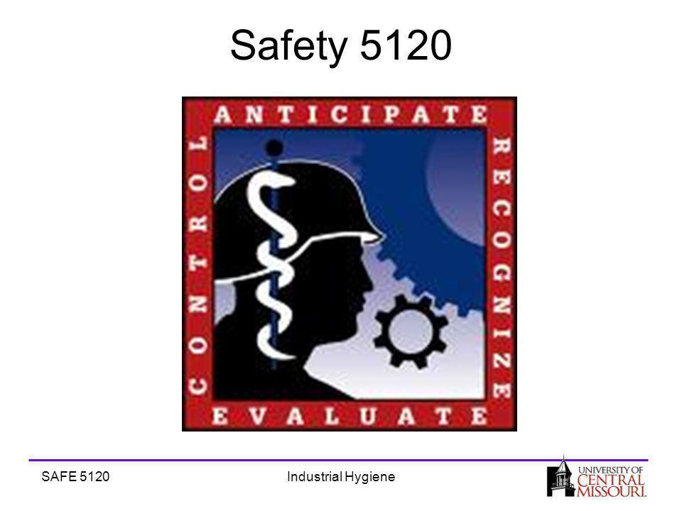 SAFE 5120Industrial Hygiene Safety 5120