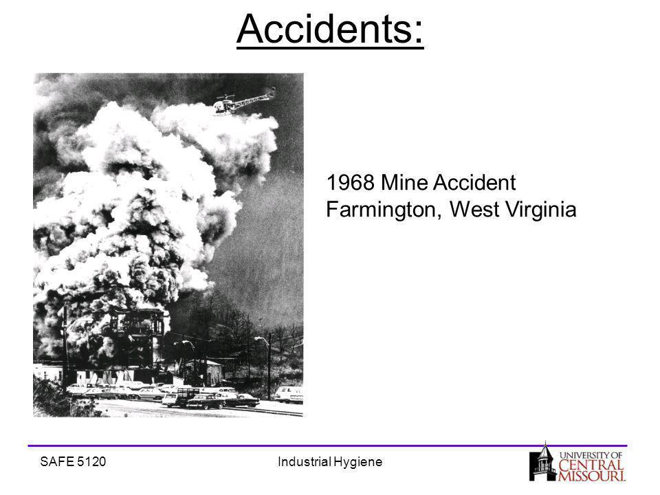 SAFE 5120Industrial Hygiene Accidents: 1968 Mine Accident Farmington, West Virginia