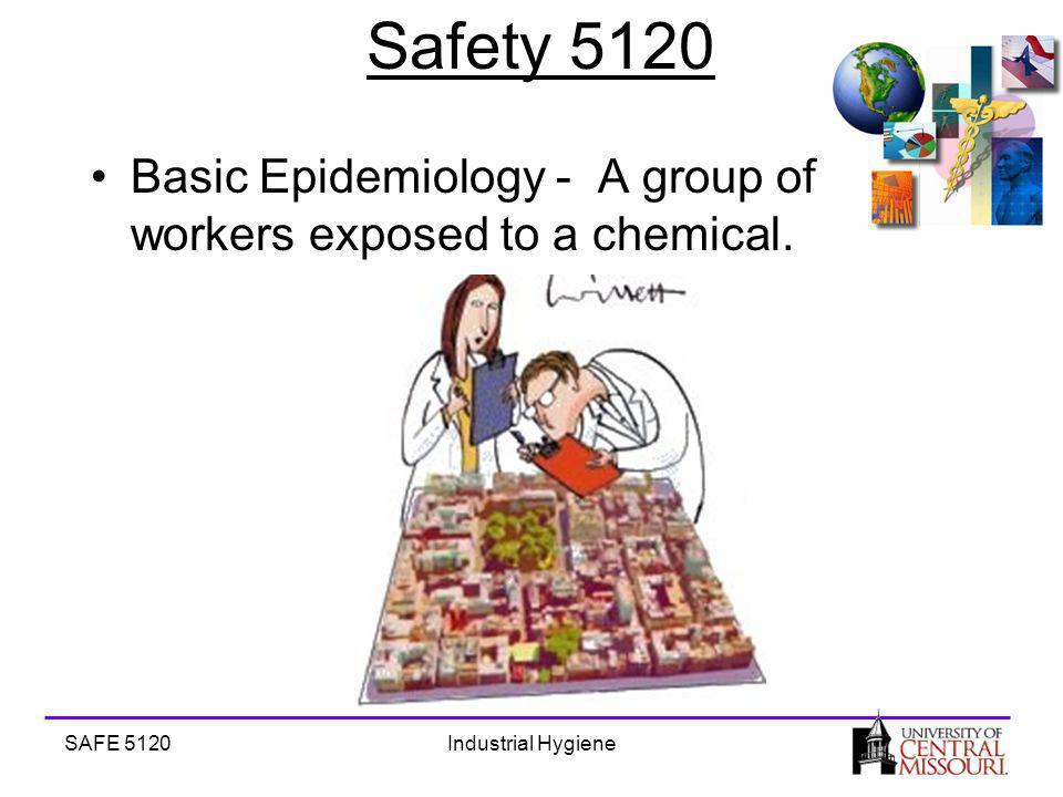 SAFE 5120Industrial Hygiene Safety 5120 Basic Epidemiology - A group of workers exposed to a chemical.