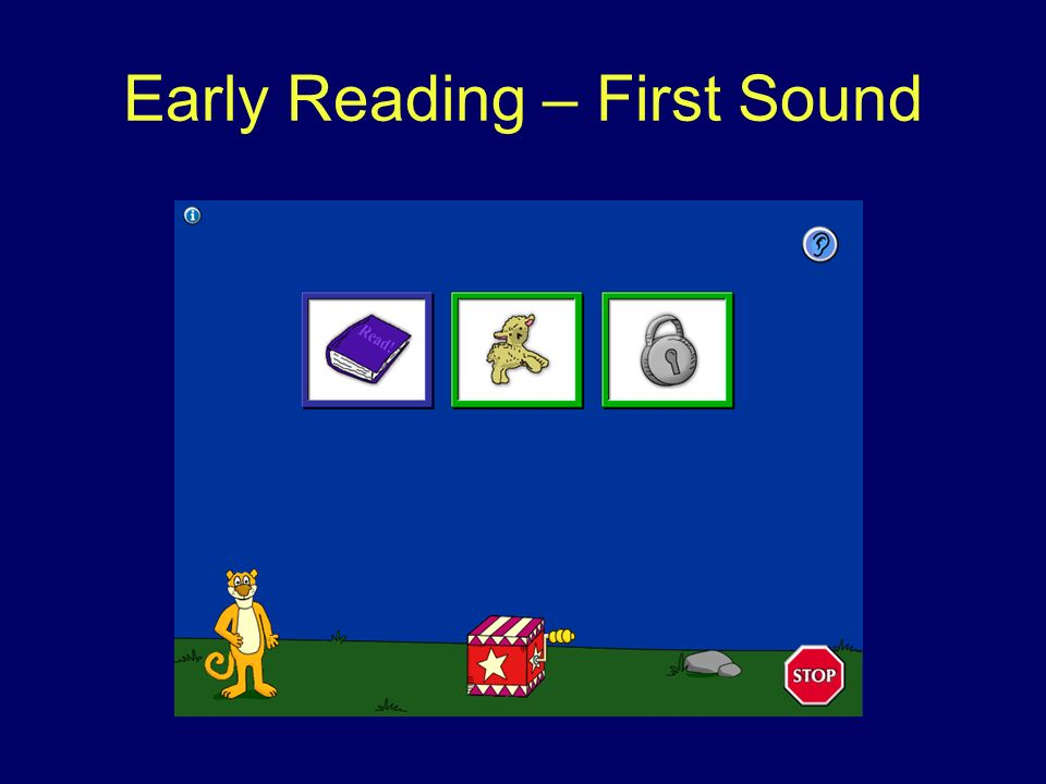 Early Reading – First Sound