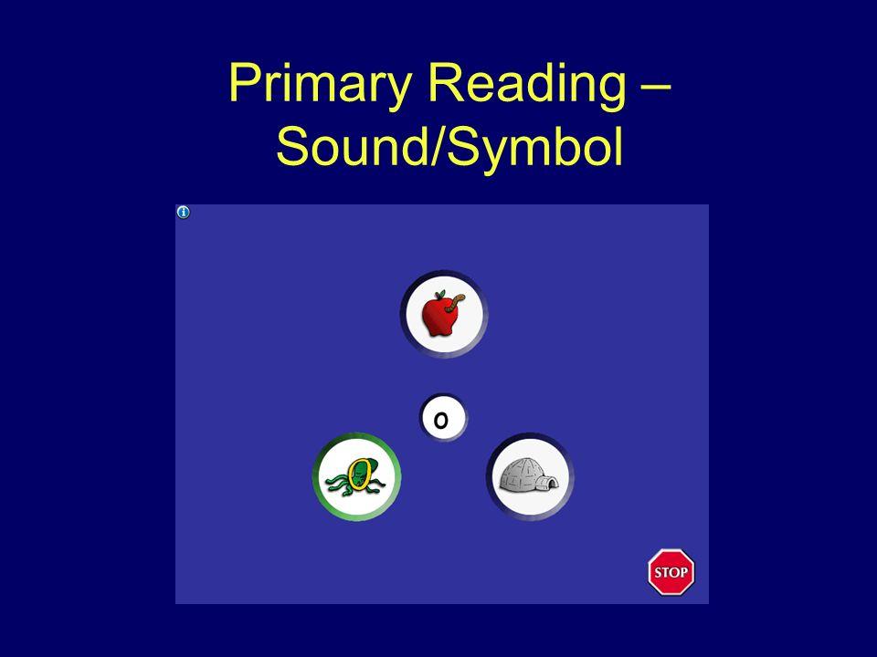 Primary Reading – Sound/Symbol