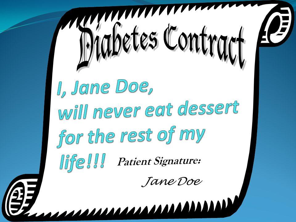 Jane Doe Patient Signature:
