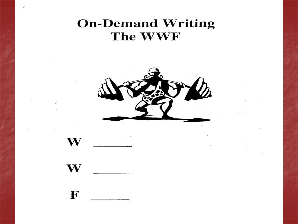 On-Demand Writing In the Responsibilities prompt, the task is to inform.