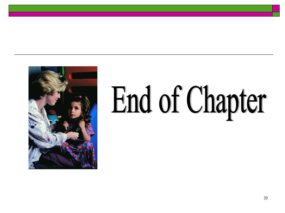 30 End of Chapter