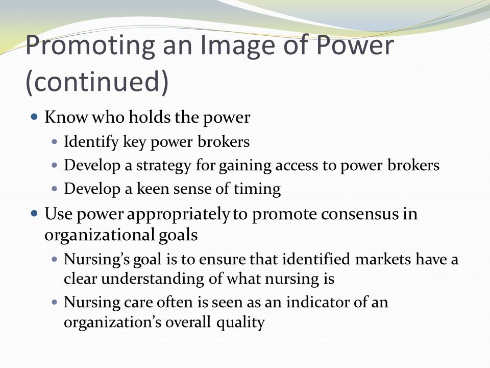 Increasing Power Identify what you and others want Look at the total situation Rank needs in order of importance Determine who controls what you want Identify the resources you control Focus on choice, not action