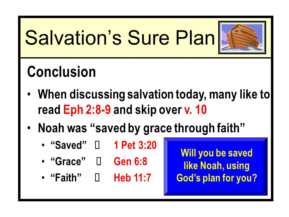 When discussing salvation today, many like to read Eph 2:8-9 and skip over v.
