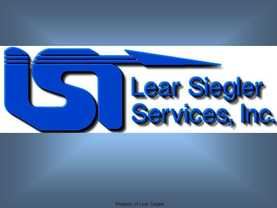 Property of Lear Siegler