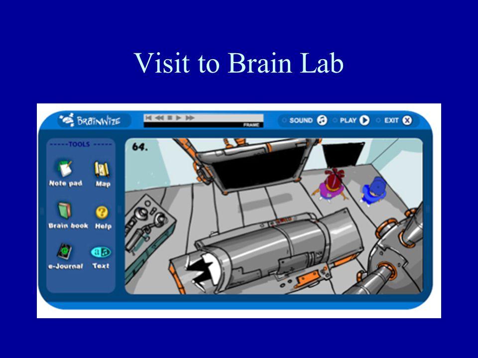 Visit to Brain Lab