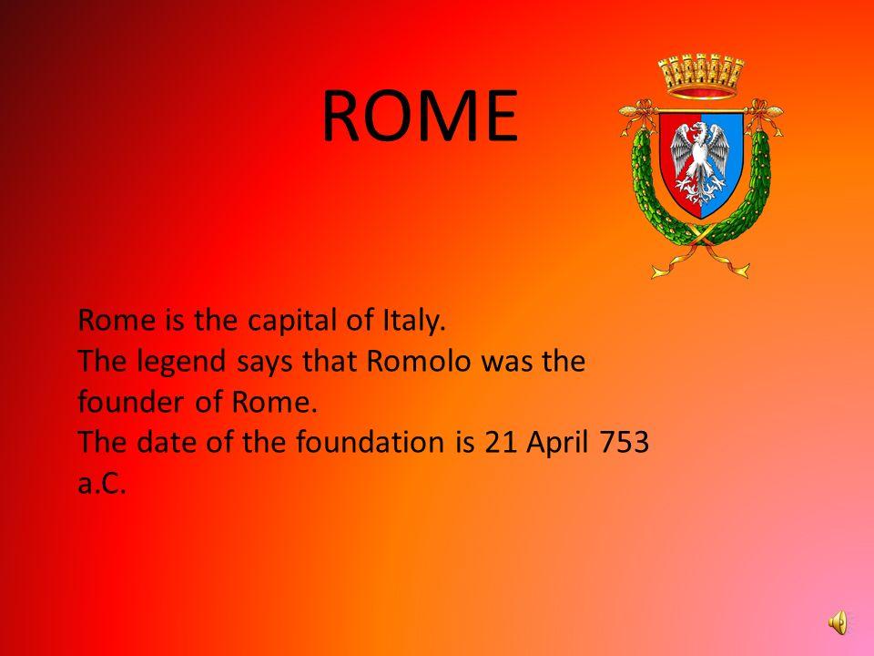 The provinces of Lazio are: Rome; Viterbo; Rieti; Frosinone; Latina.