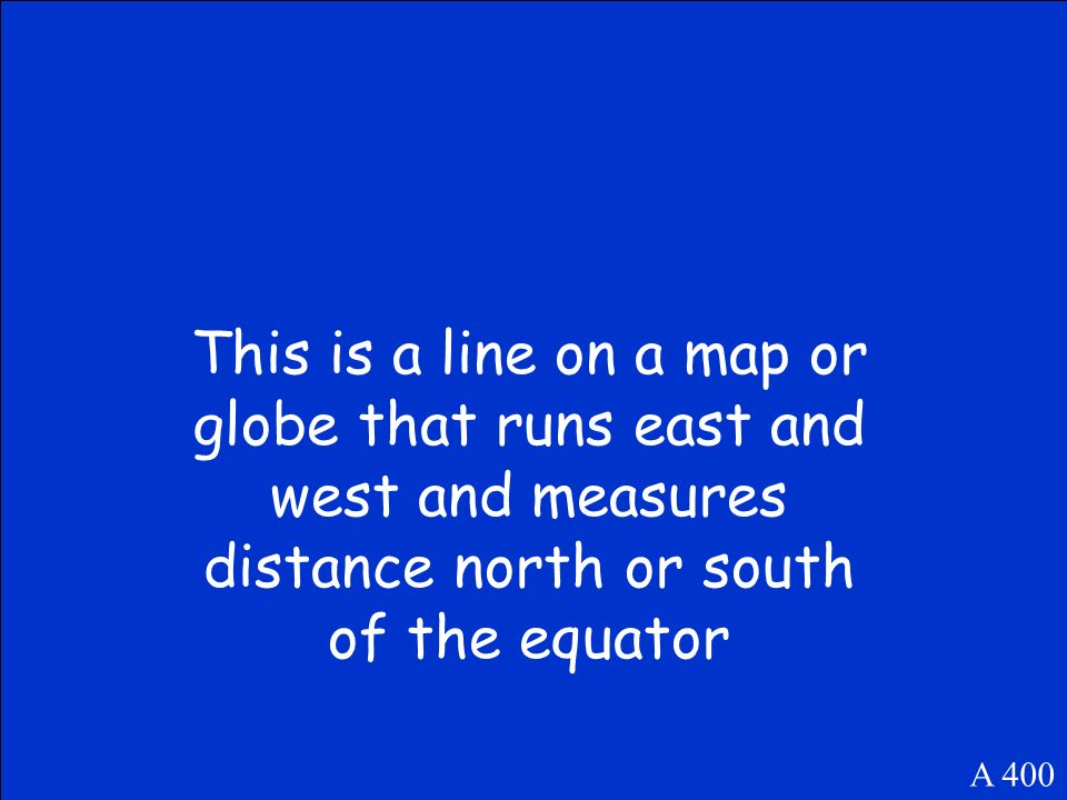 What is the equator A 300