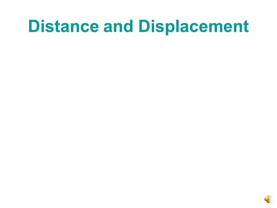 Position vs Distance vs Displacement Displacement is simply the final position minus the initial position which is often represented by the equation: