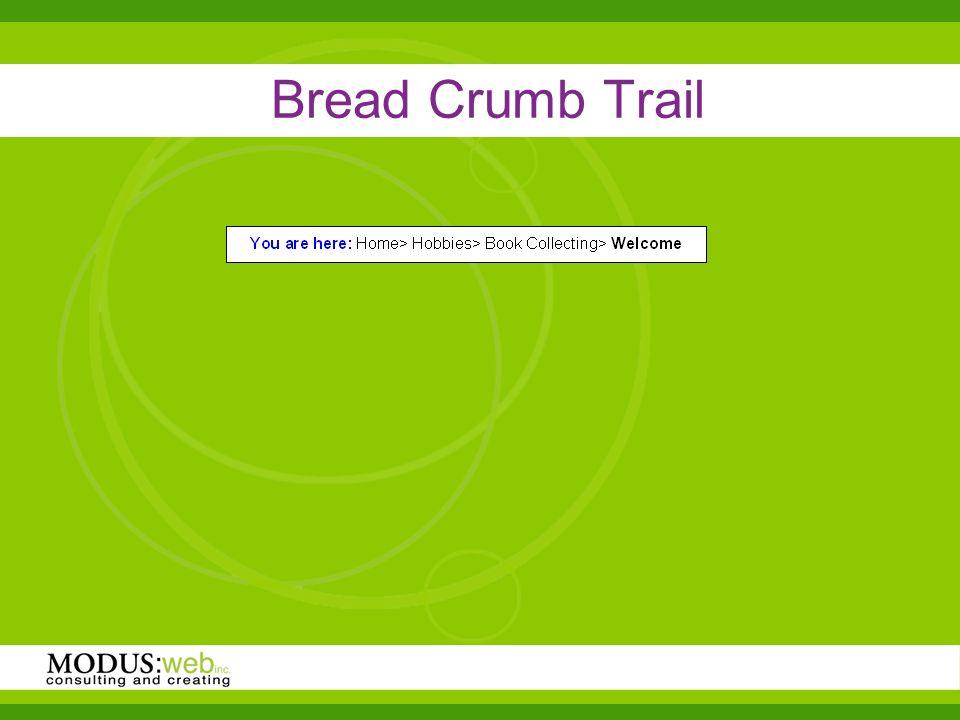 Bread Crumb Trail