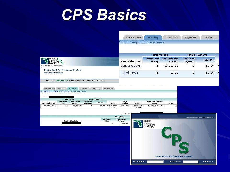 CPS Basics