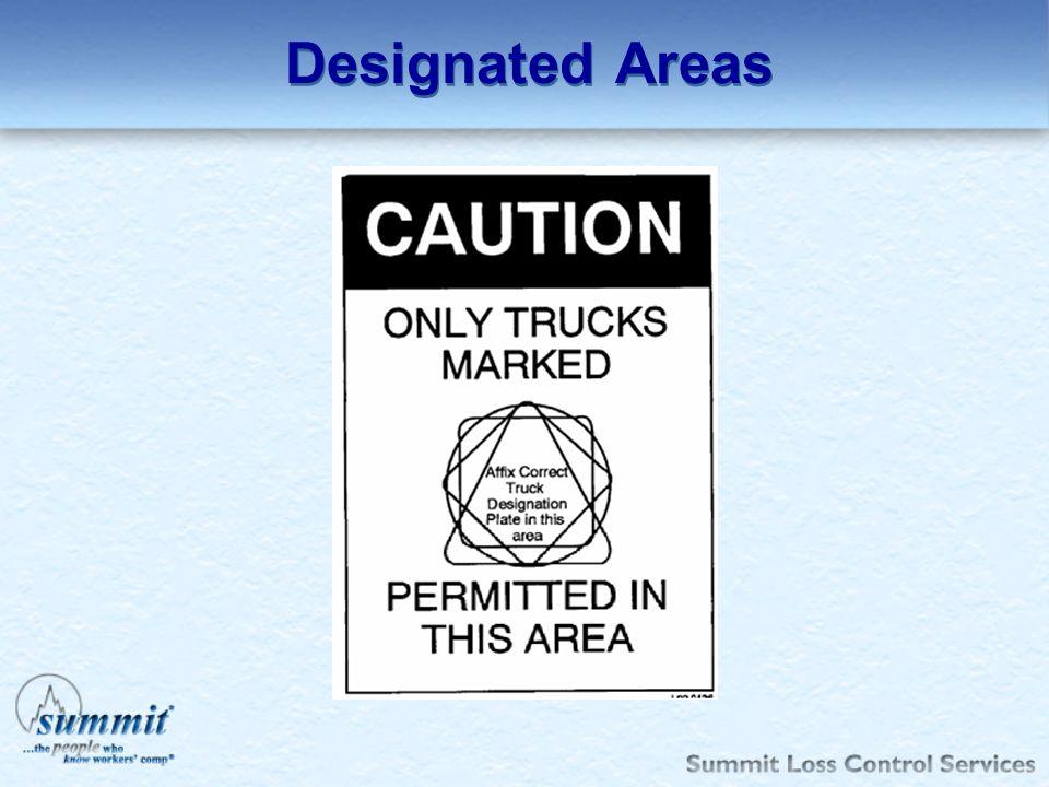 Designated Areas