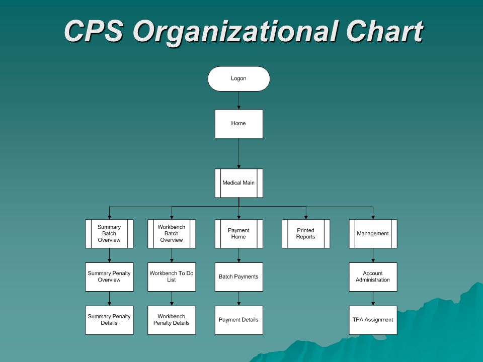 CPS Organizational Chart