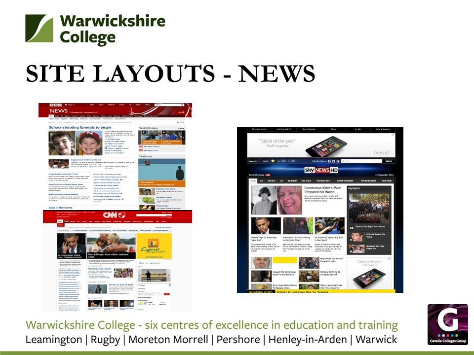 SITE LAYOUTS - NEWS