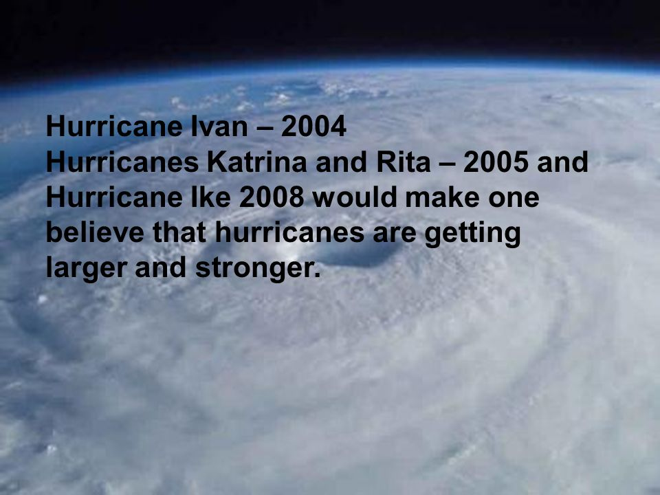 Have there been similar Gulf of Mexico hurricanes to Ivan 2004, Katrina 2005, Rita 2005 and Ike 2008.