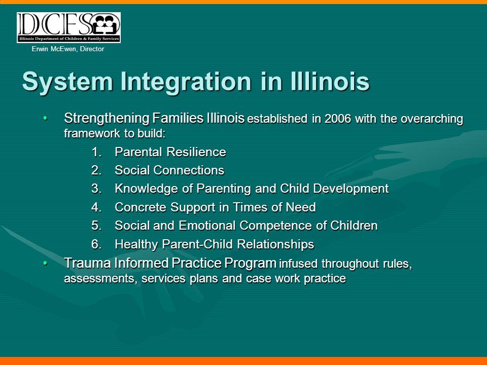 Erwin McEwen, Director Child Welfare Innovation in Illinois: A Coordinated Effort to Address Trauma